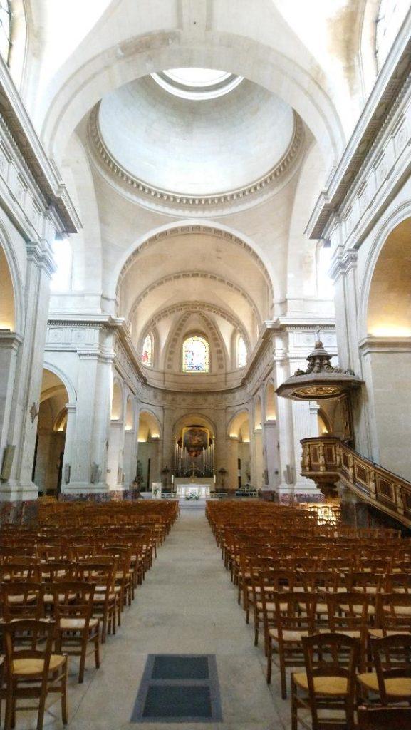 visite de l'église Notre-Dame à Versailles