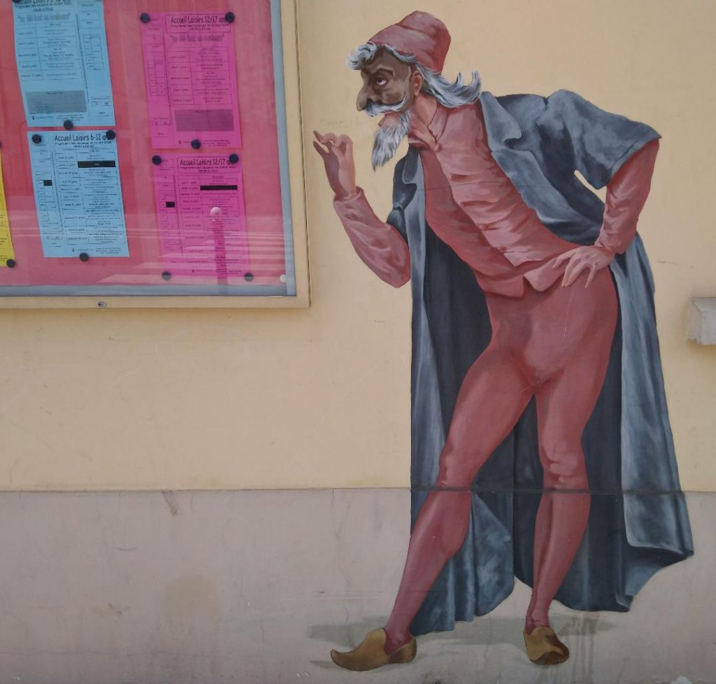 fresque à découvrir à Versailles