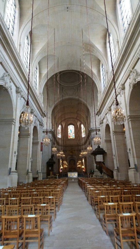 incontournable à visitr à versailles: cathédrale Saint-Louis