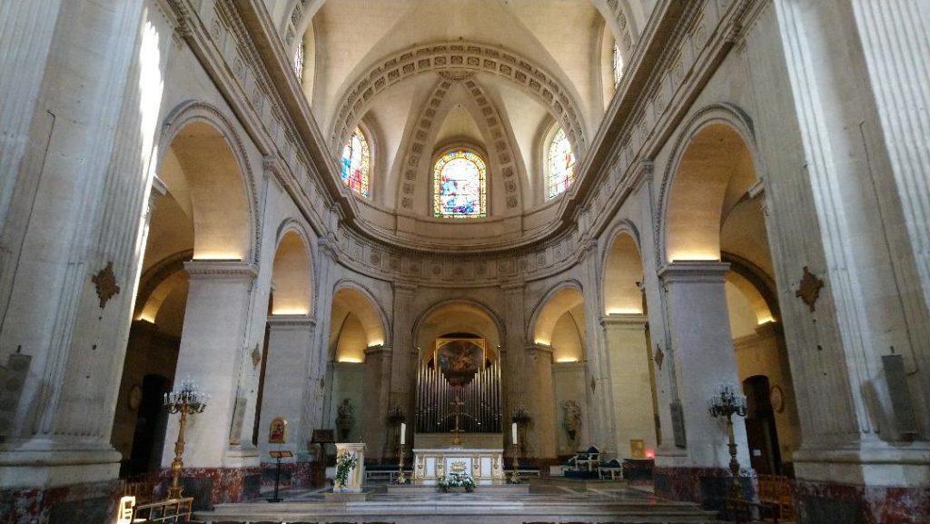 église Notre-Dame de Versailles église du roi soleil