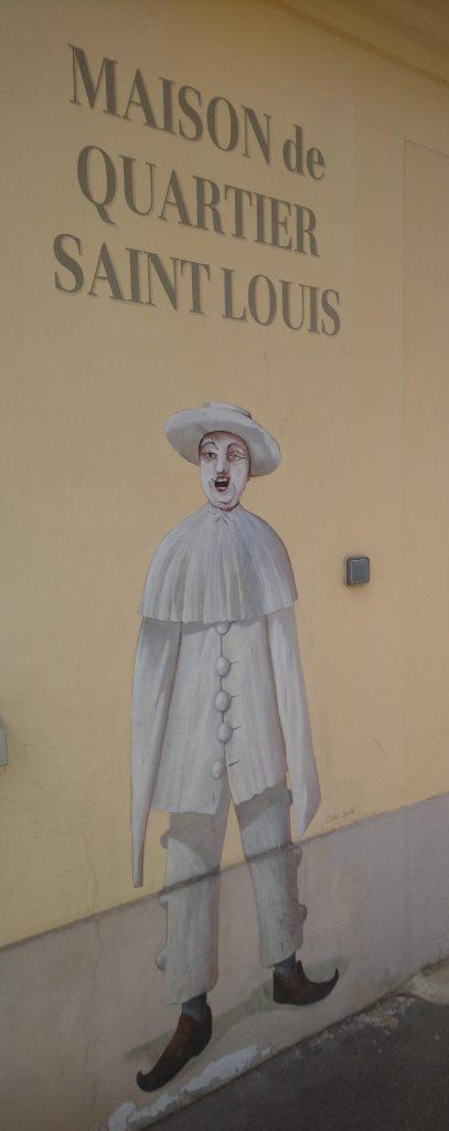 fresque à voir à Versailles
