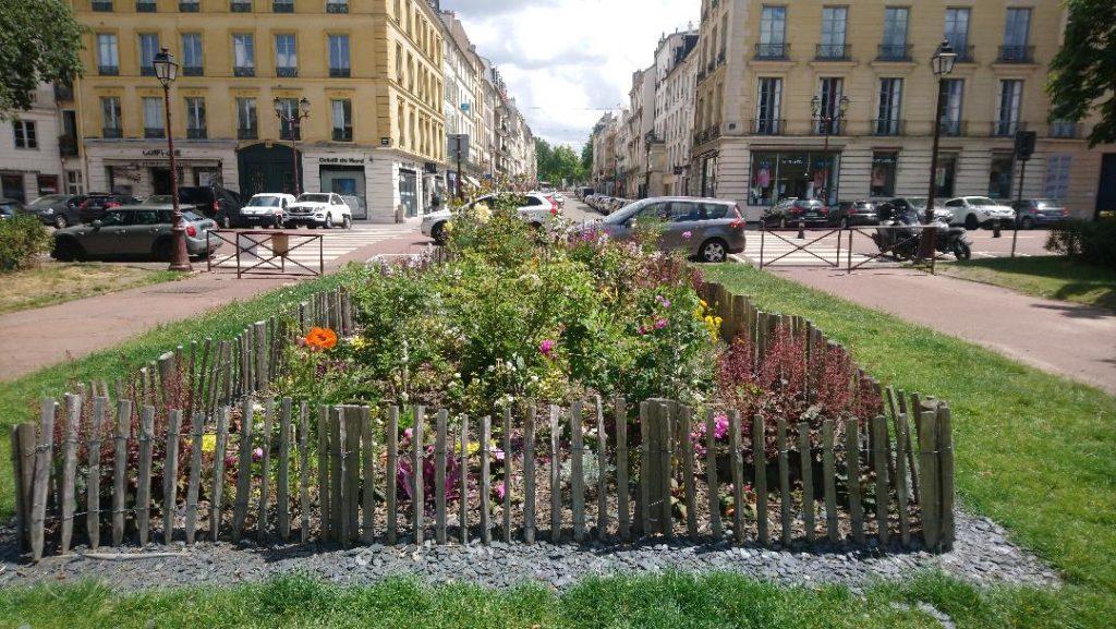 se balader dans les rues de Versailles