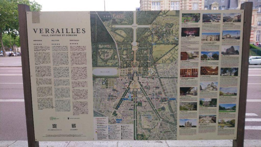 Versailles ville du roi soleil à visiter
