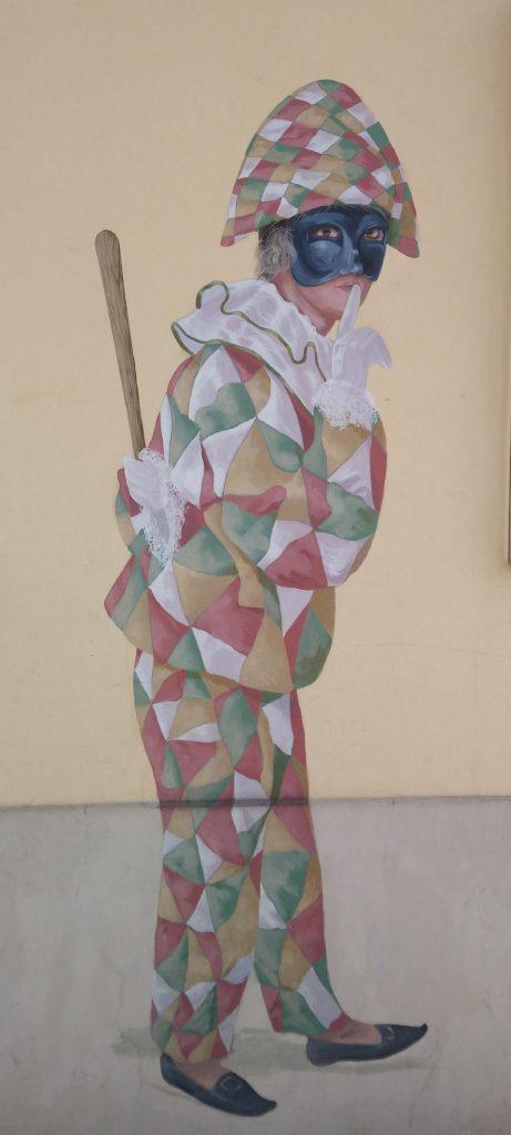 fresque du quartier Saint-Louis à Versailles