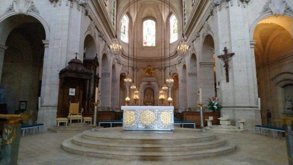 cathédrale Saint-Louis à Versailles à visiter