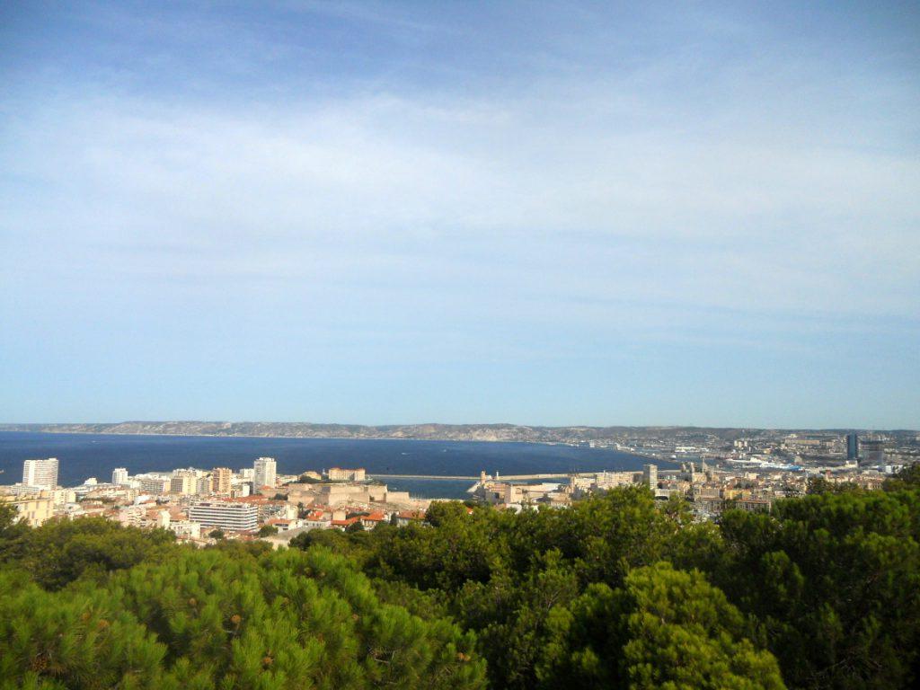 panorama de Marseille de Notre Dame de la Garde