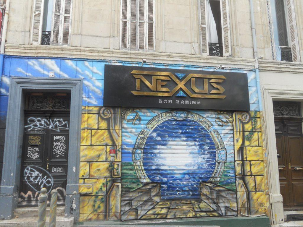 balade street art à Marseille au Cours julien