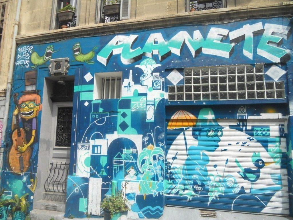 découvrir le street art à Mrseille pendant votre weekend de 2 jours