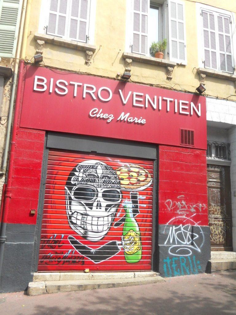 découvrir le street art à Marseille au cours Julien