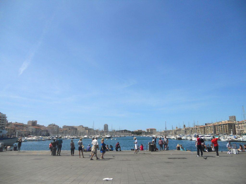 vieux-port à Marseille incontournable