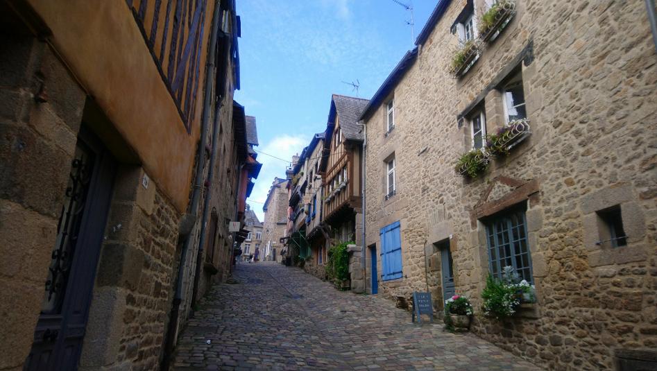 Dinan est à visiter absolument en Bretagne