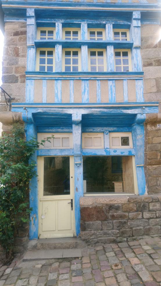 incontournable à voir à Dinan: maisons en pans de bois