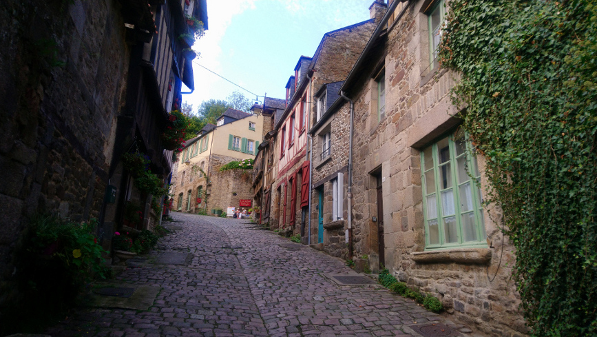 rue Jerzual à Dinan