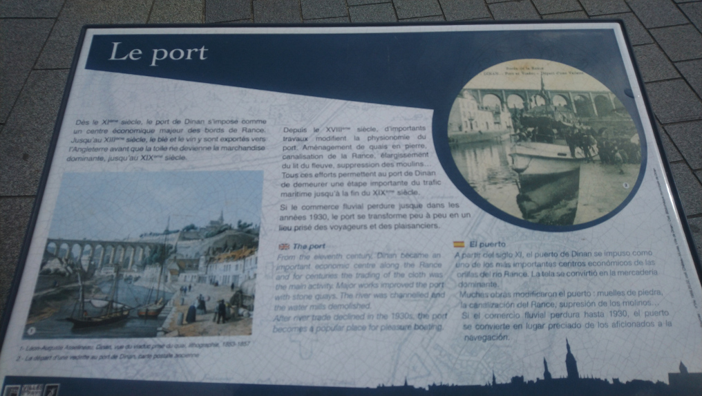 port de Dinan est une visite incontournable