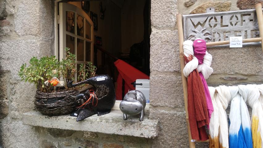 artistes à Dinan en Bretagne