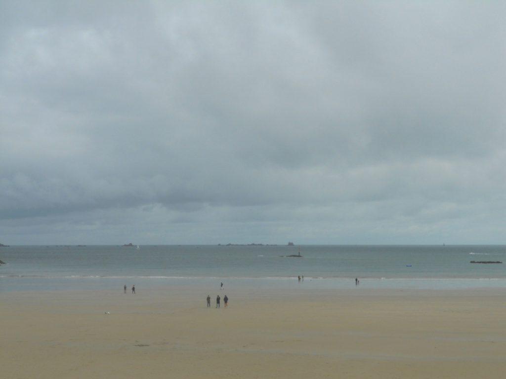 plage à Dinard
