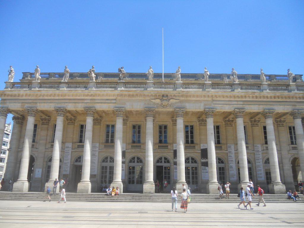 admirer le grand théâtre de Bordeaux