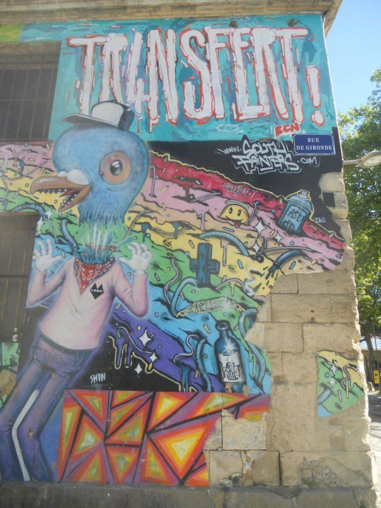 oeuvres de street art à Bordeaux