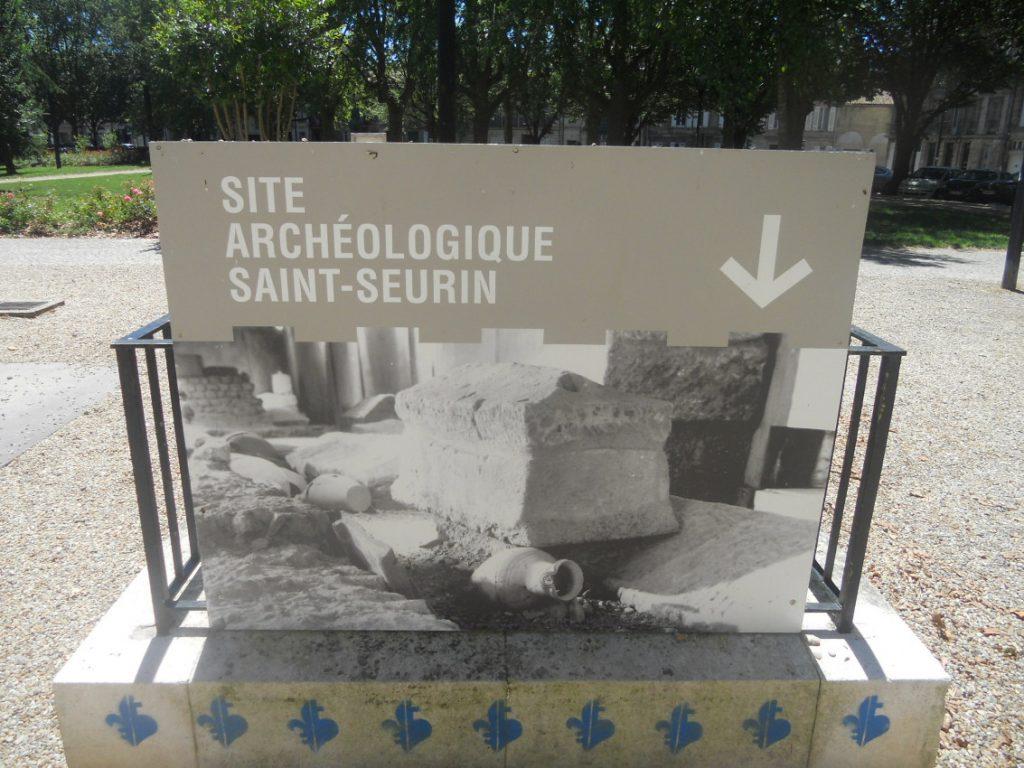 visiter le site archéologique de Saint-Seurin à Bordeaux