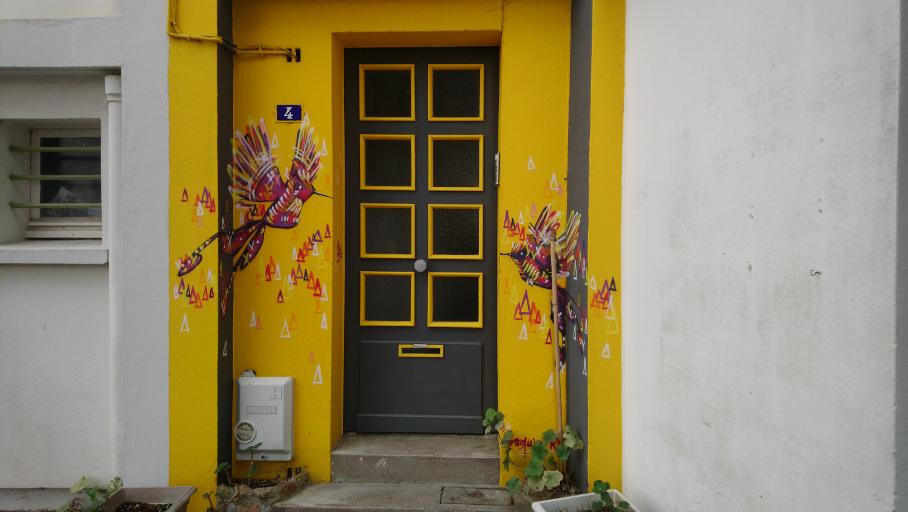 street art à découvrir à Saint-nazaire