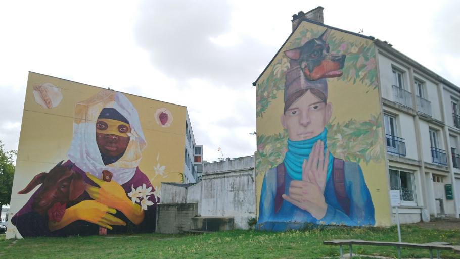 freque street art à Saint-Nazaire