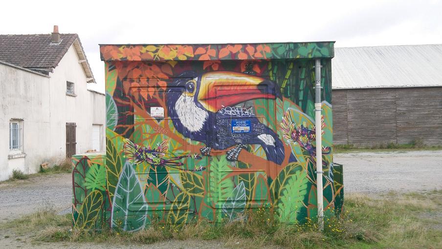 street art à Saint-Nazaire
