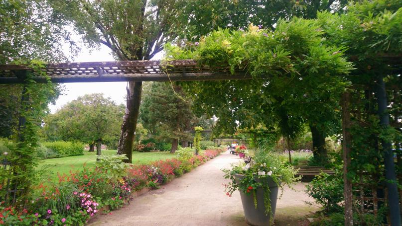 découverte du jardin des plantes de Saint-Nazaire