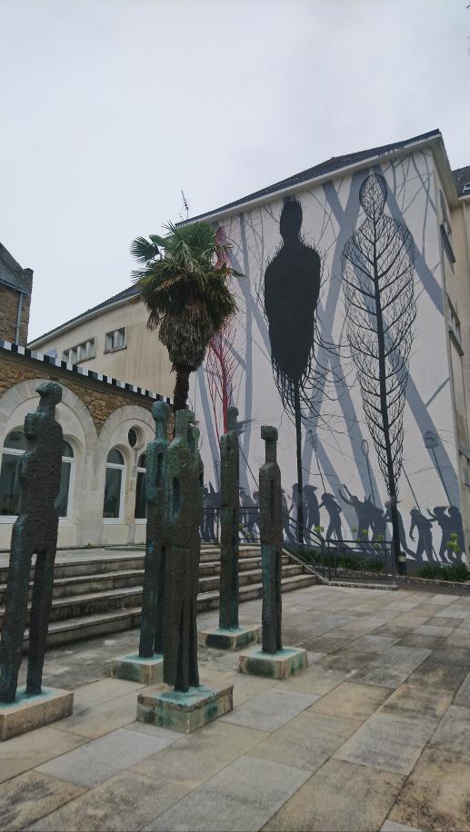 oeuvre street art à Saint-Nazaire