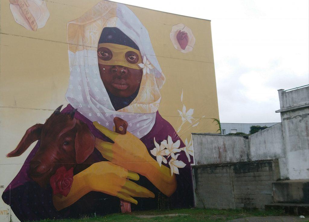 balade street art à Saint-Nazaire